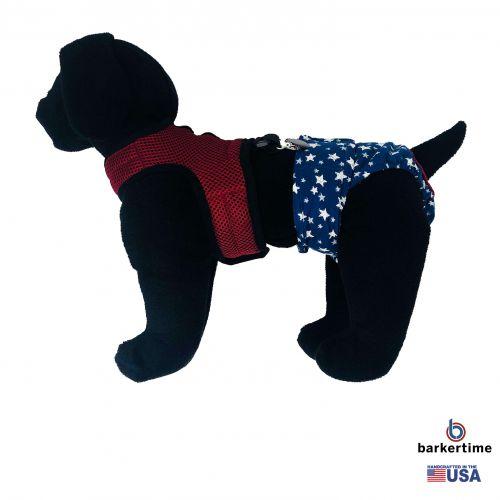 burgundy mesh suspender harness - model 1