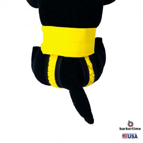 yellow waterproof diaper pull-up - model 2
